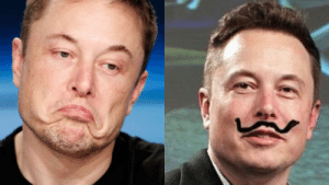 Elon Musk Shares Profile Picture With A Moustache, Starts Meme Fest: Elon Musk Shares Profile Picture With A Moustache, Starts Meme Fest