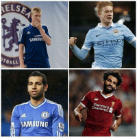 Just a reminder that Chelsea sold the top two players in the Premier League this season 😂⚽️: ELS  SAMSUN  TBALL  Standard  Chartered  SAMSUNG Just a reminder that Chelsea sold the top two players in the Premier League this season 😂⚽️