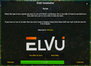 Beathis W Enveous ElvUI Version 1077 Install Reset Anchors
