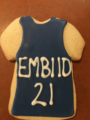 Sixers game: EMBIID  21 Sixers game