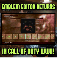 Michael Condrey confirmed on Twitter that Emblem editor will be in WWII in the full game coming November 3rd!🔥 (Not in the beta)- 👥tag a friend👥 ❤️5000 likes?❤️ follow🤖 ⬆️check out the link in my bio⬆️ 🔔turn on post notifications🔔 CoD SledgehammerGames BlackOps3 WorldWar2 Treyarch MWR callofduty InfiniteWarfare MWRemastered WWIIZombies Zombies CallofDutyIW InfinityWard PS4 PlayStation WWII xbox XboxOne BF1 BO3 CoD4 Gamer SHGames ModernWarfare Activision Sledgehammer CODWWII Game Gaming CoDReturns: EMBLEM EDITOR RETURNS  eJESPERGRAN  EMBLEM EDITOR  1  1  K Layer: I/B4  O CREATE NEW  NE  IN CALL OF DUTY WWI Michael Condrey confirmed on Twitter that Emblem editor will be in WWII in the full game coming November 3rd!🔥 (Not in the beta)- 👥tag a friend👥 ❤️5000 likes?❤️ follow🤖 ⬆️check out the link in my bio⬆️ 🔔turn on post notifications🔔 CoD SledgehammerGames BlackOps3 WorldWar2 Treyarch MWR callofduty InfiniteWarfare MWRemastered WWIIZombies Zombies CallofDutyIW InfinityWard PS4 PlayStation WWII xbox XboxOne BF1 BO3 CoD4 Gamer SHGames ModernWarfare Activision Sledgehammer CODWWII Game Gaming CoDReturns