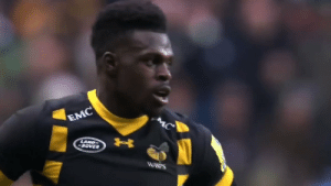 Memes, Nfl, and Chase: EMC  LAND  ROVER  WASPS .@ChristianWade3 decided to leave rugby behind to chase his NFL dreams.  He's already making the league take notice. @NFLUK   🎥: NFL Undiscovered https://t.co/lHYZPiVZbB