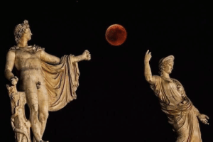 Target, Tumblr, and Apollo: emeraldpotion:The eclipse between Hera and Apollo;  July 27th, 2018.