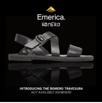 Crocs, Shopping, and True: Emerica.  ROMER  INTRODUCING THE ROMERO TRAVESURA  NOTAVAILABLE ANYWHERE HUGE 50% OFF  discounts going down today only: http://emerica.com/shop/sale/?force=true  PLUS  - This just in...  The Romero TRAVESURA comes with full toenail breathability, an elongated leather heel strap, and a Crocs inspired outsole. It's a Romero mandal we can all be proud of. #MadeInEmerica