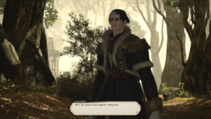 Grey, Orange, and Ask: Emet-Selch  Mmm... No, I think not. I am an observer nothing more Roasting someone's grey parse and then they ask to see your orange logs