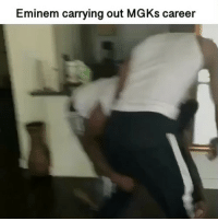 Diss, Eminem, and Memes: Eminem carrying out MGKs career The new DISS OMG!