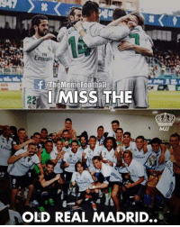 Memes, Real Madrid, and Old: Emirat  TheMemefoothafi  İMISSTHE  MJJ  3  OLD REAL MADRID.. For real... 🥺