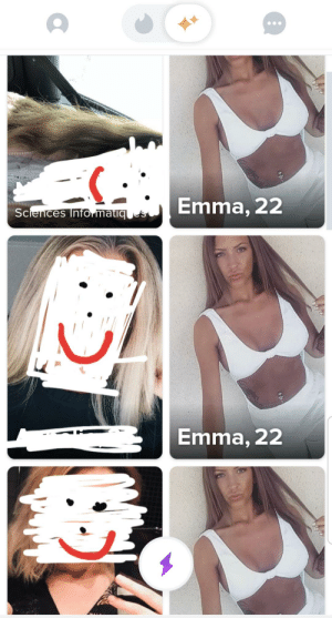 I'm not an expert, but I think there's something fishy. Can't really tell what...: Emma, 22  Sciences Info matiq s  Emma, 22 I'm not an expert, but I think there's something fishy. Can't really tell what...