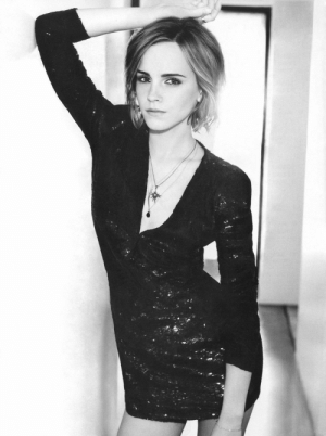 Emma Watson photographed for Marie Claire.: Emma Watson photographed for Marie Claire.