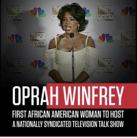 "Memes, Oprah Winfrey, and 🤖: EMMY  EMMY  OPRAH WINFREY  FIRST AFRICAN AMERICAN WOMAN TOHOST Repost: @History-""On ThisDayInHistory 1986, OprahWinfrey becomes the first AfricanAmerican woman to host a nationally syndicated television talk show, The Oprah Winfrey Show. A huge success, her daytime television talk show turns Winfrey into one of the most powerful, wealthy people in show business and, arguably, the most influential woman in America."" 🙏💯 BlackHistoryMonth @Oprah WSHH"