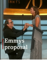 And the prize for best moment at this year's Emmys goes to ... Glenn Weiss! He used his acceptance speech to propose to his girlfriend, athlete Jan Svendsen. Glenn won his Emmy for outstanding directing for a variety special for The Oscars. Tap the link in our bio to find out who else picked up an award. emmys emmys2018 awards proposal love bbcnews: EMMY  S  Emmys  proposal And the prize for best moment at this year's Emmys goes to ... Glenn Weiss! He used his acceptance speech to propose to his girlfriend, athlete Jan Svendsen. Glenn won his Emmy for outstanding directing for a variety special for The Oscars. Tap the link in our bio to find out who else picked up an award. emmys emmys2018 awards proposal love bbcnews