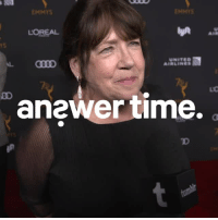 televisionacad: Ann Dowd, The Handmaid's Tale Anonymous: Do you think that Aunt Lydia conflicted about the role that she plays in Gilead? Anonymous: If you could have a conversation with Aunt Lydia, what would you say? Stardom: Given the chance to be a fly on the wall in Gilead, would you?  Tune in to the 70th Emmy Awards on NBCSeptember 17th, 8pm ET/5PT  : EMMYS  ENMYS  LOREAL  AIR  rS  UNITED  AIRLINES  anewer time.  TD televisionacad: Ann Dowd, The Handmaid's Tale Anonymous: Do you think that Aunt Lydia conflicted about the role that she plays in Gilead? Anonymous: If you could have a conversation with Aunt Lydia, what would you say? Stardom: Given the chance to be a fly on the wall in Gilead, would you?  Tune in to the 70th Emmy Awards on NBCSeptember 17th, 8pm ET/5PT