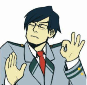 emo-bnha-bean:  When you yell at your classmates just right: emo-bnha-bean:  When you yell at your classmates just right