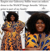 """Beautiful, Black History Month, and Black Lives Matter: Empire Star Gabourey Sidibe wears an ankara  dress to the NAACP Image Awards: African  print is part of my family  THE YOUNG EMPIRE repost @theyoungempire_ EMPIRE STAR Gabourey Sidibe brought some colour and culture to the red carpet at the annual NAACP Image Awards in a beautiful Ankara dress. . The actress, whose father is from Senegal, looked stunning in the blue and yellow printed gown. . """"I love African Print as if it were a part of my family and really...it kind of is,"""" she captioned the image of her red carpet entrance on Instagram. """"Thank you to @themarcyminute for finding me the dress of my dreams !!! Thank you @ofuure for rushing this beautiful outfit to us!"""" . In another image of her outfit, she wrote: """"Happy Black History Month ✊🏾"""" . @gabby3shabby Blacktivist hotnews black africanamerican blacklivesmatter blackunity blackis melanin icantbreath neverforget sayhername blackhistorymonth blackpride blackandproud dreamchasers blackgirls blackwomen blackman westandtogether proudtobeblack blackbusiness"""