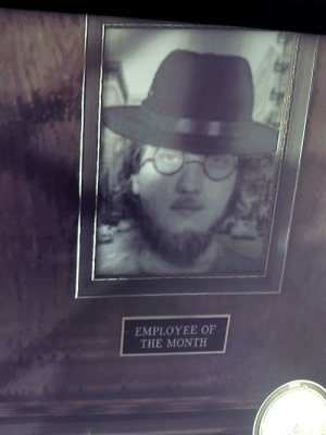 "I Came, Neckbeard Things, and Mafia: EMPLOYEE OF  THE MONTH Was playing ""Mafia 2"" when i came across this little gem..."