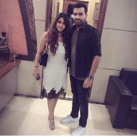 Memes, 🤖, and Rohit Sharma: en Latest click of Mr. and Mrs. Rohit Sharma