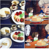 9gag, Anime, and Memes: en93kitchen  en93kitchen Recreating dishes from Ghibli movies. Can't you name them all? - - 📸 @en93kitchen - - 9gag anime hayaomiyazaki ghibli