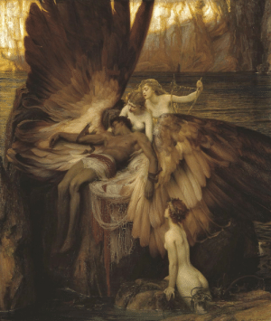 "enchantedbook:   ""The Lament For Icarus"" Herbert James Draper  : enchantedbook:   ""The Lament For Icarus"" Herbert James Draper"