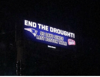 Beer, Football, and Nfl: END THE DROUGHTL  5DAYS SINCE ACE  LAST BOSTON USILE Sports fans: We couldn't possibly hate Boston sports teams more than we do already   Boston: Hold our beer https://t.co/KVvPEo2unC