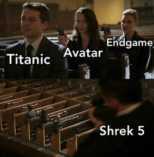 Shrek, Titanic, and Tumblr: Endgame  Titanic Avatar  Shrek 5 awesomesthesia:  The time has come