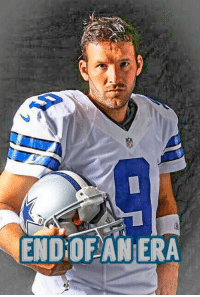 Espn, Memes, and Archer: ENDOF ANERA Unless there's a last minute trade sources tell ESPN's Todd Archer and Adam Schefter that the Cowboys will release Tony Romo on Thursday.  Via 103.3 FM ESPN  - Jeeno