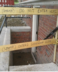 9gag, Memes, and Spanish: ENEISH DO NOT ENTER HERE Accurate translation. Follow @9gag 9gag English Spanish Translation