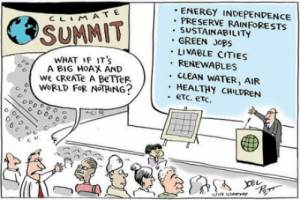 A less poluted one: ENERGY INDEPENDENCE  PRESERVE RAINFoORESTS  . SUSTAINABILITY  . GREEN JoBS  LIVABLE CITIES  RENEWABLES  CLEAN WATER, AIR  HEALTHY CHILDREN  WHAT IF ITS  A BIG HOAX AND  We CReATe A BeTTeR.  WoRLD FOR NOTHING? A less poluted one