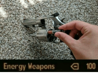 Anaconda, Energy, and Weapons: Energy Weapons  100