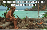 Football, Nfl, and Sports: ENFLSEASON JUST  DAYS AFTER THE DRAFT Is it September yet? https://t.co/uru9mTIdoa