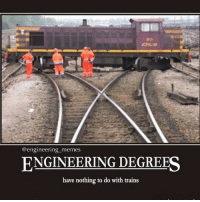 Engineering Degrees have nothing to do with trains😱👀. engineers engineering engineeringmemes trains: @engineering memes  ENGINEERING DEGREES  have nothing to do with trains Engineering Degrees have nothing to do with trains😱👀. engineers engineering engineeringmemes trains