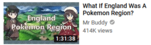 swarnpert: british person: *sees dialga and palkia appear and create a space-time rift in the sky that will destroy the entire country* roight. wots all this then: England  Pokemon Region  What If England WasA  Pokemon Region?  Mr Buddy  o414K views  1:31:38 swarnpert: british person: *sees dialga and palkia appear and create a space-time rift in the sky that will destroy the entire country* roight. wots all this then