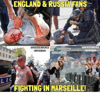 ENGLAND & RUSSIA FANS  TAHSOCCERMEMES  IAMSOCCERMEMES  Opera unicipal  elNSTAGRAH  INSTAGRAM  Cars du Touri  me  A8  LIC  FIGHTING IN MARSEILLE! This Is A Disgrace To Football! 😨 • Double Tap & Tag Friends!