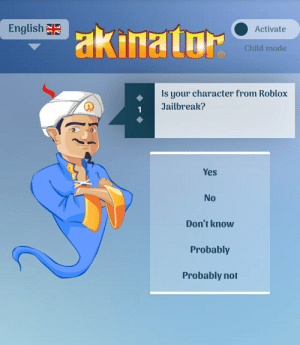 English Activate Child Mode Is Your Character From Roblox