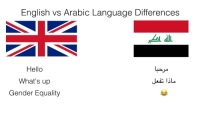 "Hello, Http, and English: English vs Arabic Language Differences  Hello  What's up  Gender Equality <p>Are these still worth a buy? via /r/MemeEconomy <a href=""http://ift.tt/2uhkSaq"">http://ift.tt/2uhkSaq</a></p>"