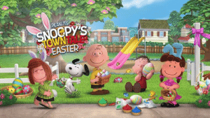 Enjoy a fabulous Easter Day with Snoopy & all your favorite Peanuts characters in Snoopy Town's newest game event. Play it now on your mobile or tablet: http://bit.ly/SnoopysTownTale: Enjoy a fabulous Easter Day with Snoopy & all your favorite Peanuts characters in Snoopy Town's newest game event. Play it now on your mobile or tablet: http://bit.ly/SnoopysTownTale