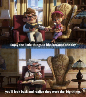 Keep in mind. https://t.co/CCt2tLf2vi: Enjoy the little things in life, because one day  you'll look back and realize they were the big things: Keep in mind. https://t.co/CCt2tLf2vi