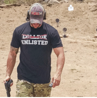 "College, Memes, and Link: ENLISTED @valhallawear Whether you passed on college to go to war or have a degree too and just take more pride in your time served, the ""Enlisted"" tee is made for you. @valhallawear LINK IN BIO ☝️☝☝ @valhallawear is vet owned and operated. Their clothing line is Military operator inspired and Viking approved. 🇺🇸 @valhallawear @valhallawear @valhallawear"