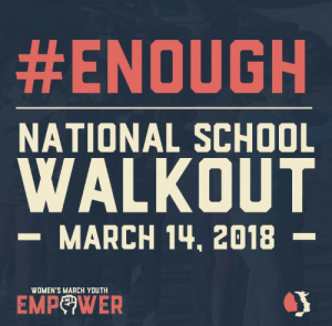 weavemama: e-v-roslyn:   weavemama:  IT'S OFFICIAL. There will be a national school walkout on March 14th. This walkout demands action to finally be taken on gun violence. No more students deserve to be gunned down because lawmakers don't wanna do anything about it. We are the generation that's being affected the most by these weak gun laws, and WE are the ones who should be protesting about it. One student dying because of a gunman is one too many. SPREAD THE WORD, this applies to ALL students!!  @weavemama What if our spring break falls on that day? How else can we pitch in?   There's another walkout date on April 20th! For  the 18th anniversary of Columbine.  :  #ENOUGH  NATIONAL SCHOOL  WALKOUT  -MARCH 14, 2018  WOMEN'S MARCH YOUTH  EMPeWER weavemama: e-v-roslyn:   weavemama:  IT'S OFFICIAL. There will be a national school walkout on March 14th. This walkout demands action to finally be taken on gun violence. No more students deserve to be gunned down because lawmakers don't wanna do anything about it. We are the generation that's being affected the most by these weak gun laws, and WE are the ones who should be protesting about it. One student dying because of a gunman is one too many. SPREAD THE WORD, this applies to ALL students!!  @weavemama What if our spring break falls on that day? How else can we pitch in?   There's another walkout date on April 20th! For  the 18th anniversary of Columbine.