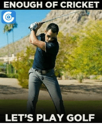 Memes, Cricket, and Golf: ENOUGH OF CRICKET  LET'S PLAY GOLF MS Dhoni spends his off-time playing Golf.