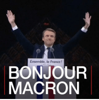 "Memes, Drive, and France: Ensemble, la France!  BONJOUR  MACRON 8 MAY: The French president-elect, Emmanuel Macron, is to begin the task of forming a new government ahead of his inauguration later this week. Elected on Sunday with two-thirds of valid votes, Mr Macron admitted the task facing him was daunting. He's to return to the campaign trail with his newly-established independent centrist movement, ""En Marche!"" (or On The Move), aiming to transform its political momentum into the parliamentary seats required to drive through his legislative agenda. At thirty-nine, Mr Macron @emmanuelmacron will be the youngest ever French president and the first in the post-war era to be chosen from outside the country's two main political parties. France Macron PresidentMacron Paris MarineLePen EuropeanUnion EnMarche BBCShorts BBCNews @BBCNews"