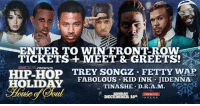 Kid inks security pushes fan off stage kid ink meme on me fabolous fetty wap and jidenna enter to win front rowmm tickets meet m4hsunfo