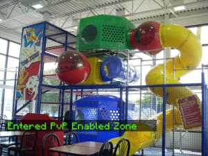 Anarchy, Entered, and Where: Entered FyF Enabled Zonie Playplaces where places of complete Anarchy