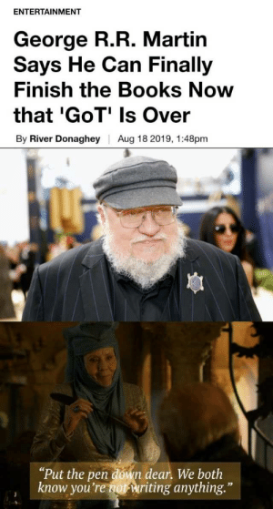 DIDNT KNOW THAT GEORGE R R MARTIN DO ANIME TOO | George