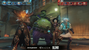 aku-no-homu:  this overwatch esports match glitched and the game declared that dr. junkenstein won on king's row : ENVYUS D  O  NRG  0%  09  CHIPSHAJEN  09  0%  0%  0%  TAIMOU  COCCO  MICKIE  LUI  HARRYHOOK  AJAX  DUMMY  NUMLOCKED  IDDOD  ULTIMAWEP  HARBLEU  D3A aku-no-homu:  this overwatch esports match glitched and the game declared that dr. junkenstein won on king's row