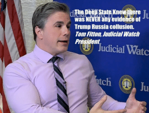FITTON:BIG New Lawsuit: Judicial Watch Sues for Docs on Collusion between Obama FBI and Clinton-DNC Lawyers: ep State Knew there T  Was NEVER any  Trump Russia collusion.  Tom Fitton, Judicial Watci  President0  evidence of FITTON:BIG New Lawsuit: Judicial Watch Sues for Docs on Collusion between Obama FBI and Clinton-DNC Lawyers