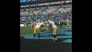 .@JordyRNelson retired as a member of the @Packers today.  His pregame ritual with @AaronRodgers12 was legendary. 🏈🌪 https://t.co/kXMgYZGxga: epal pep  SUNDAY, DE  CAROLINA PANTHERS AT ATLANTA FALCONS  PANTNERS 2017 SCHEDULE  EAR SEASO .@JordyRNelson retired as a member of the @Packers today.  His pregame ritual with @AaronRodgers12 was legendary. 🏈🌪 https://t.co/kXMgYZGxga