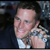 Tom Brady & the Patriots have their shiny new rings for winning Super Bowl 51 which makes a handful for Tom Terrific. patriots tombrady showoff tmzsports tmz: epatriots Tom Brady & the Patriots have their shiny new rings for winning Super Bowl 51 which makes a handful for Tom Terrific. patriots tombrady showoff tmzsports tmz
