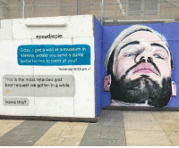 Retardedness: epewdiepie  Gday, I got a wall at a museum in  Viehna, would you send a dumb  selfie for me to paint of you?  Yesterday 6:42 pm  This is the most retarded and  best request Ive gotten in a while  Hows this?