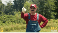Minecraft, Video Games, and Mario: EPIC  GAMING MARIO VS MINECRAFT! This guys are awesome! Nukazooka #EpicGaming
