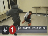 shOOTING stARS more like deAD: Epic Student Film Stunt Fail shOOTING stARS more like deAD